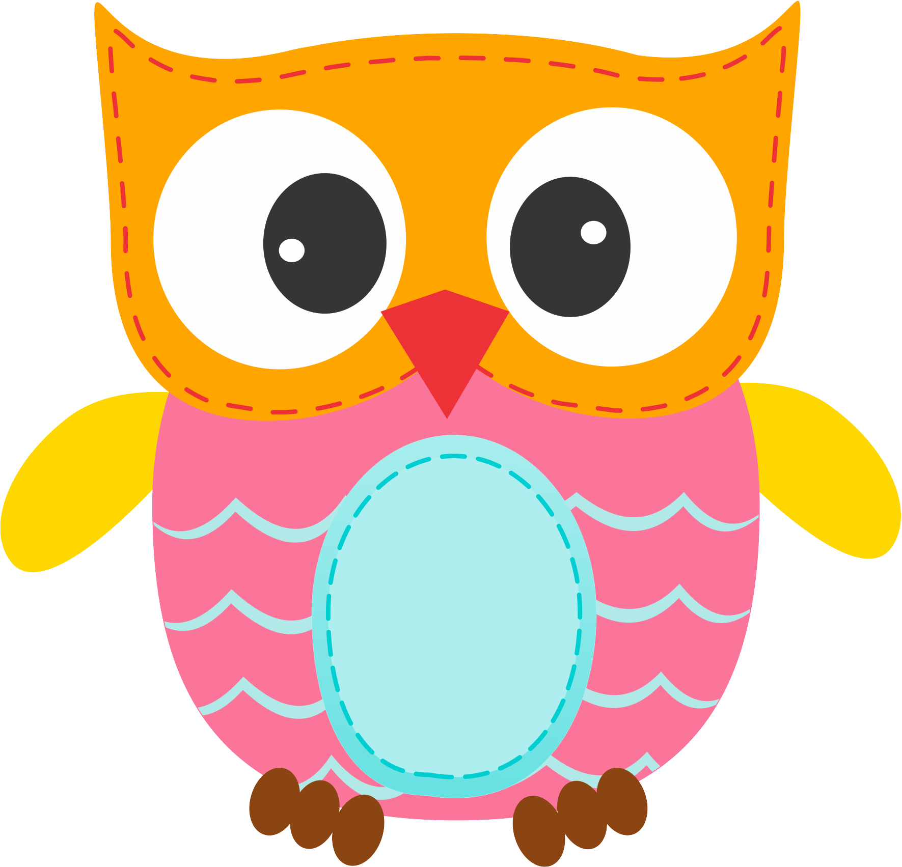 Photo by daniellemoraesfalcao minus. Clipart cupcake owl