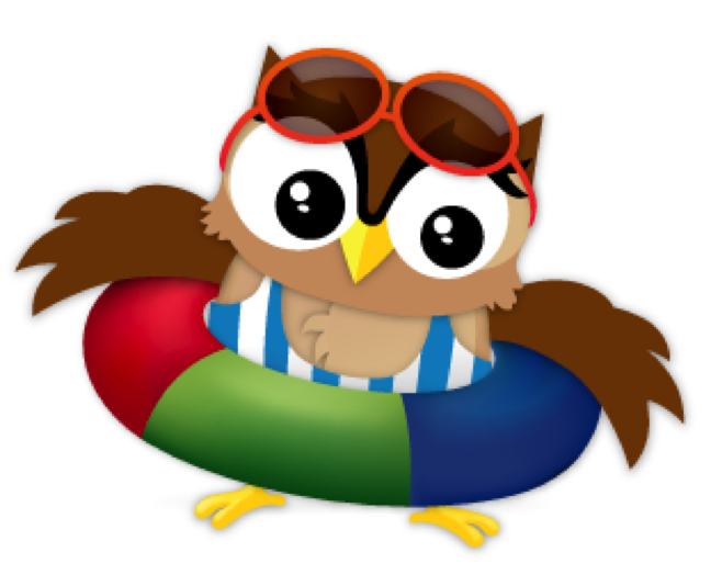 Owls clipart summer. Owl free on dumielauxepices