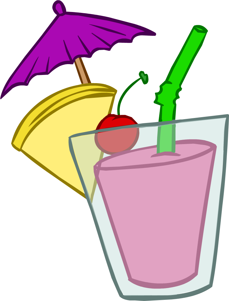 Clipart summer august. Tropical smoothie club penguin