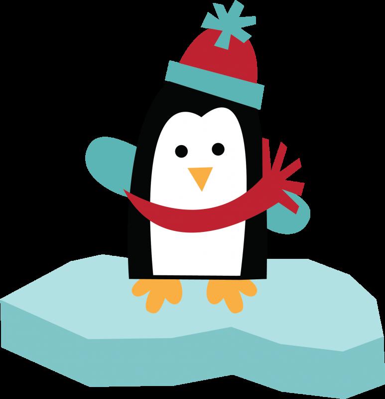 clipart penquin group penguin
