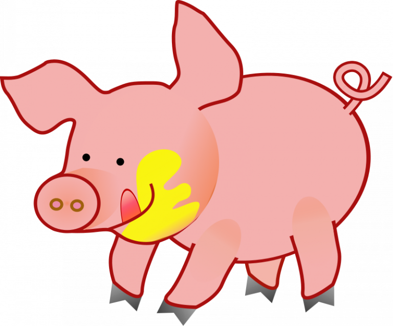 pigs huge freebie. Tired clipart pig