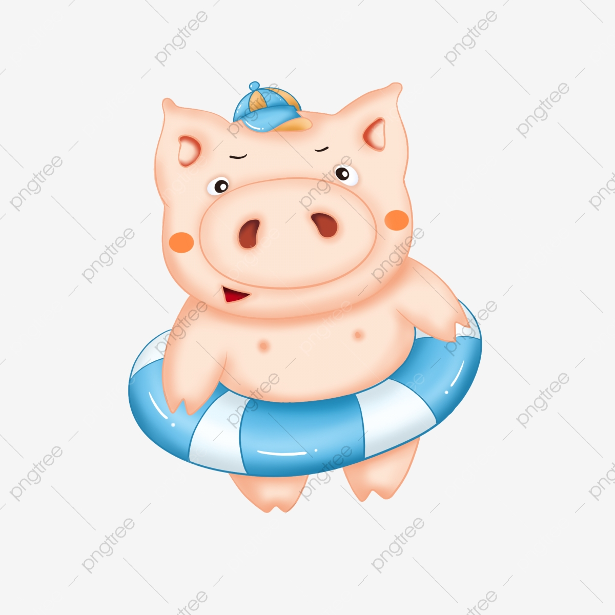 Clipart pig beach. Vacation year of the