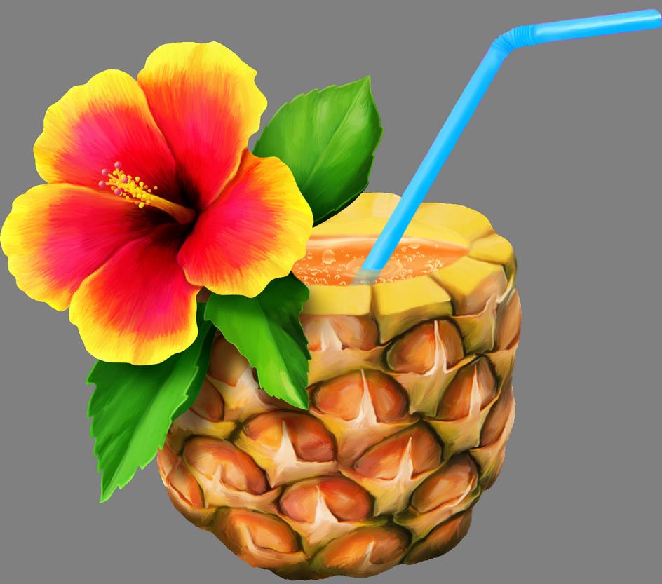 el png pinterest. Pineapple clipart vintage