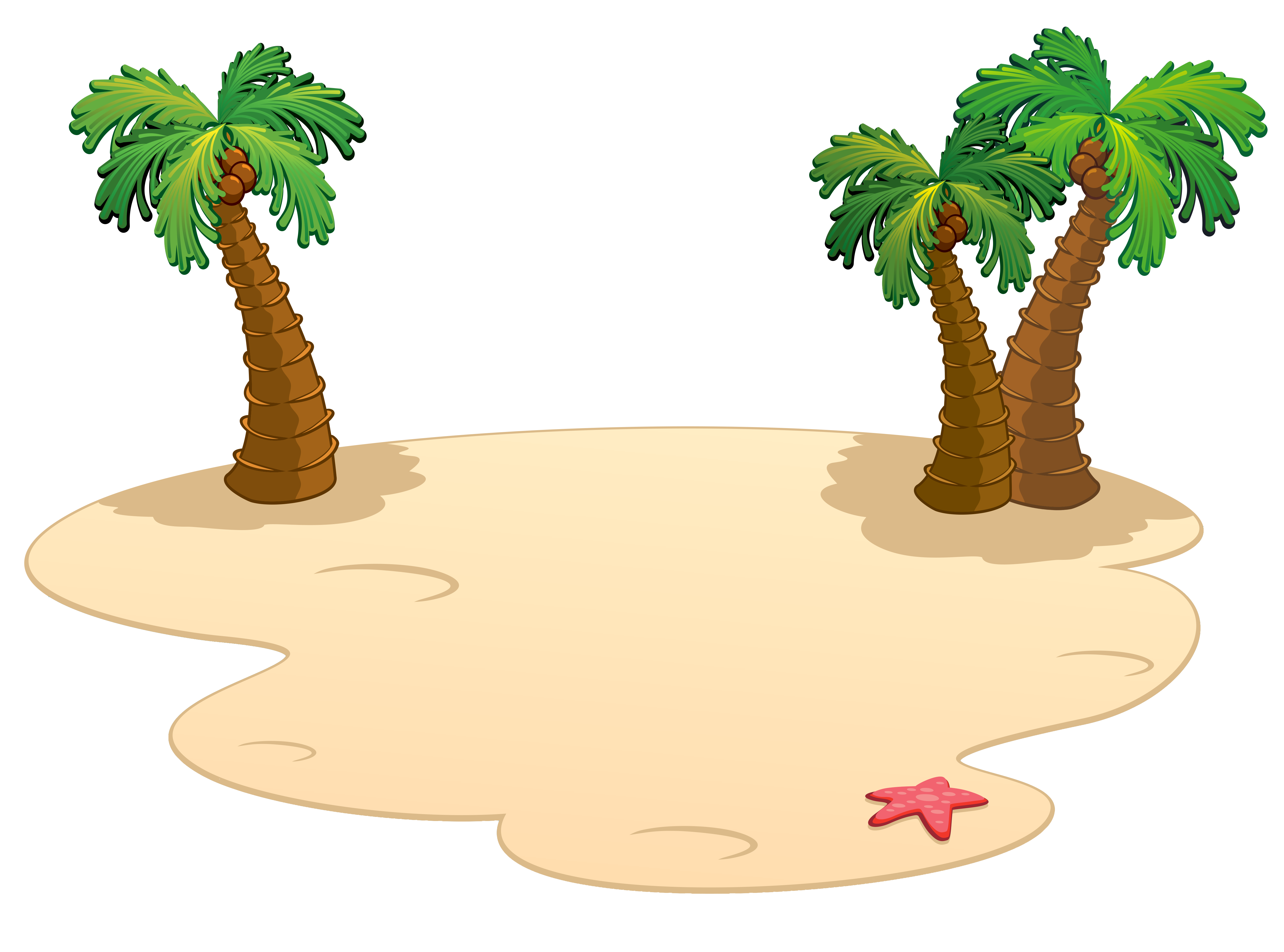 Palms png gallery yopriceville. Clipart plane beach