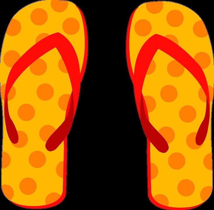 Graphics flops slippers beach. Hawaiian clipart flip flop