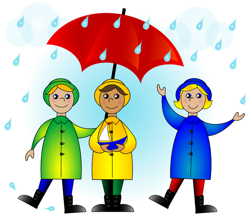 Wet clipart under weather. Free rainy day image
