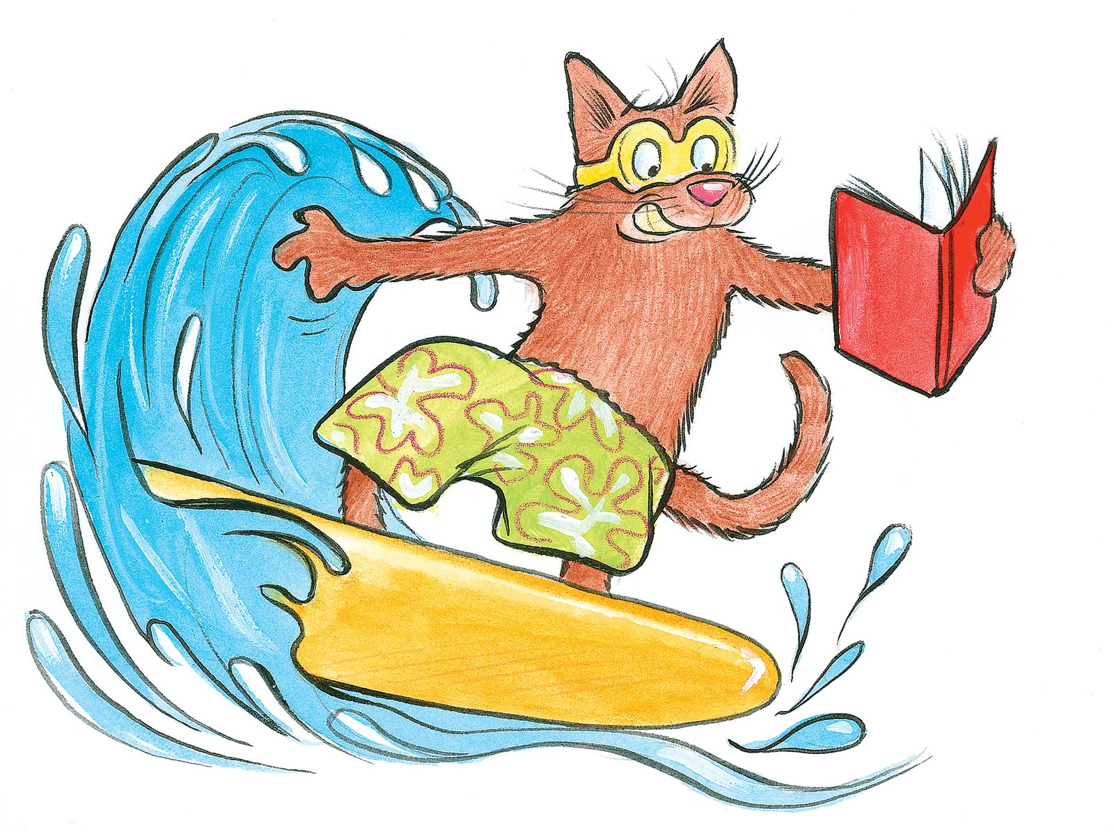 Clipart reading summer. Free beach cliparts download