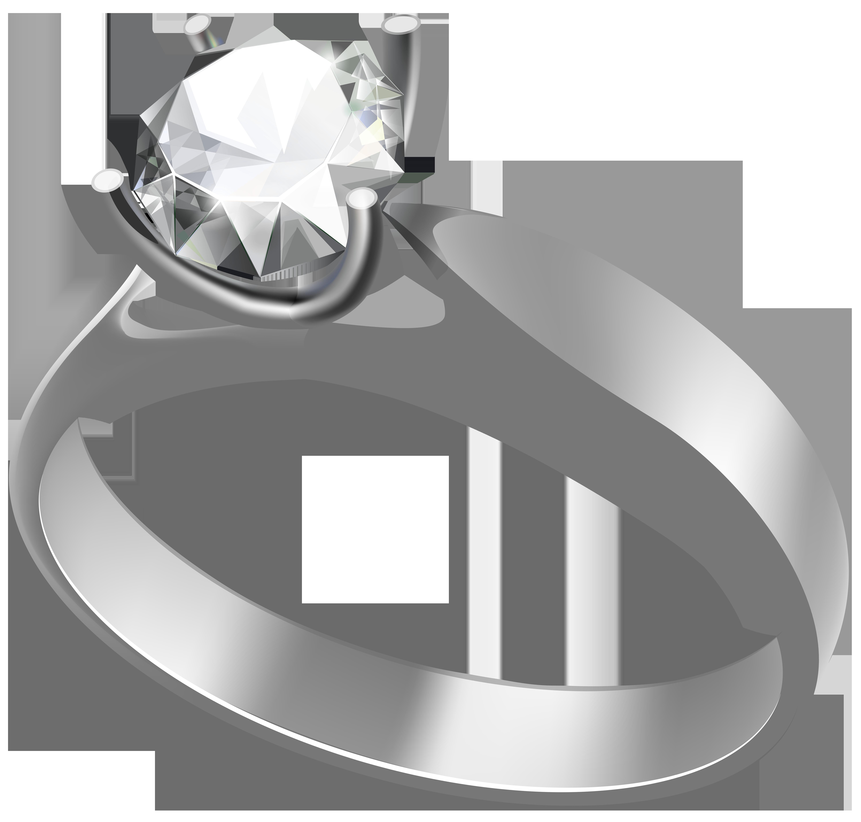 Engagement ring transparent png. Diamond clipart platinum