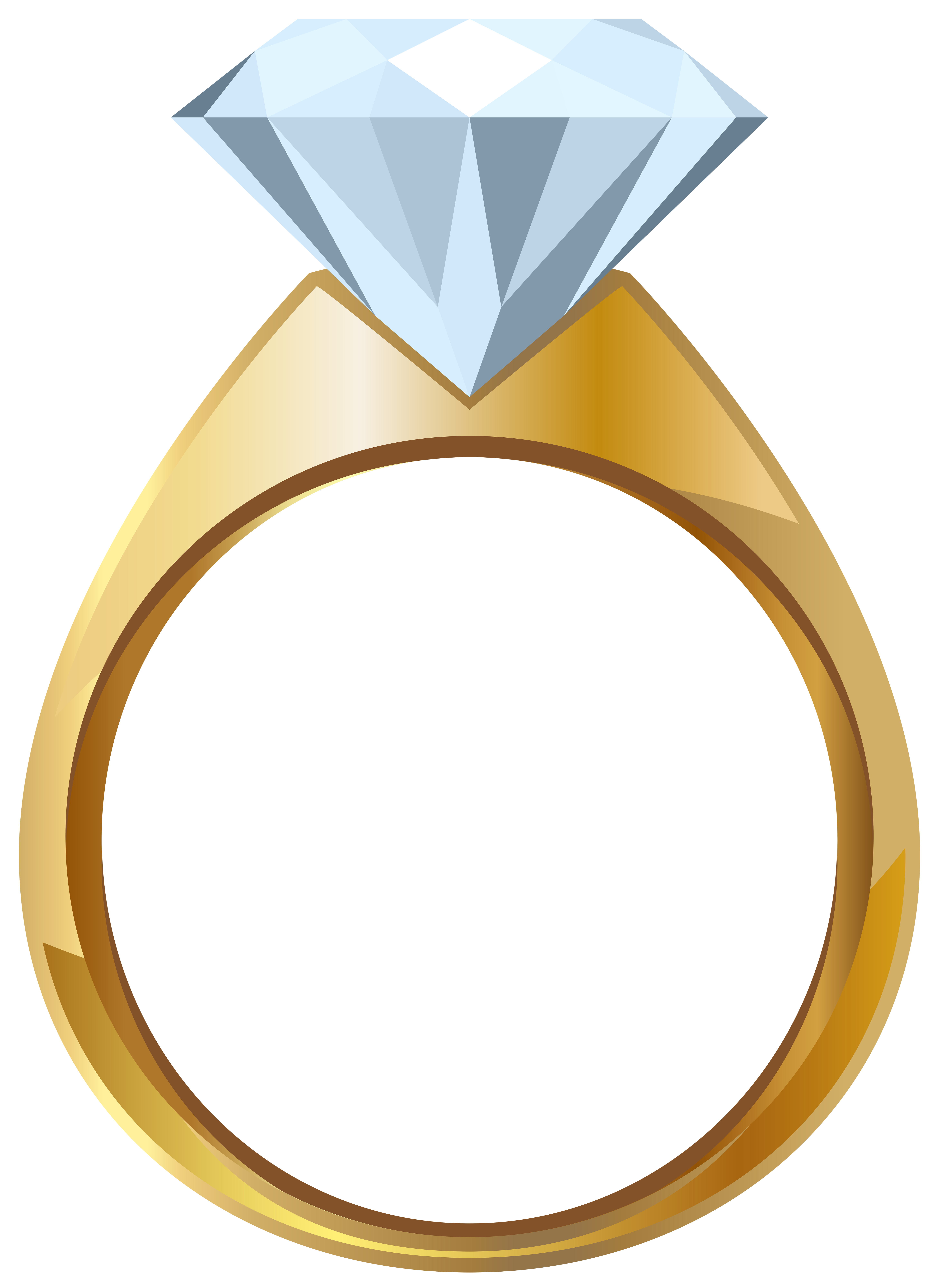 Gold engagement ring png. Diamond clipart coloring page
