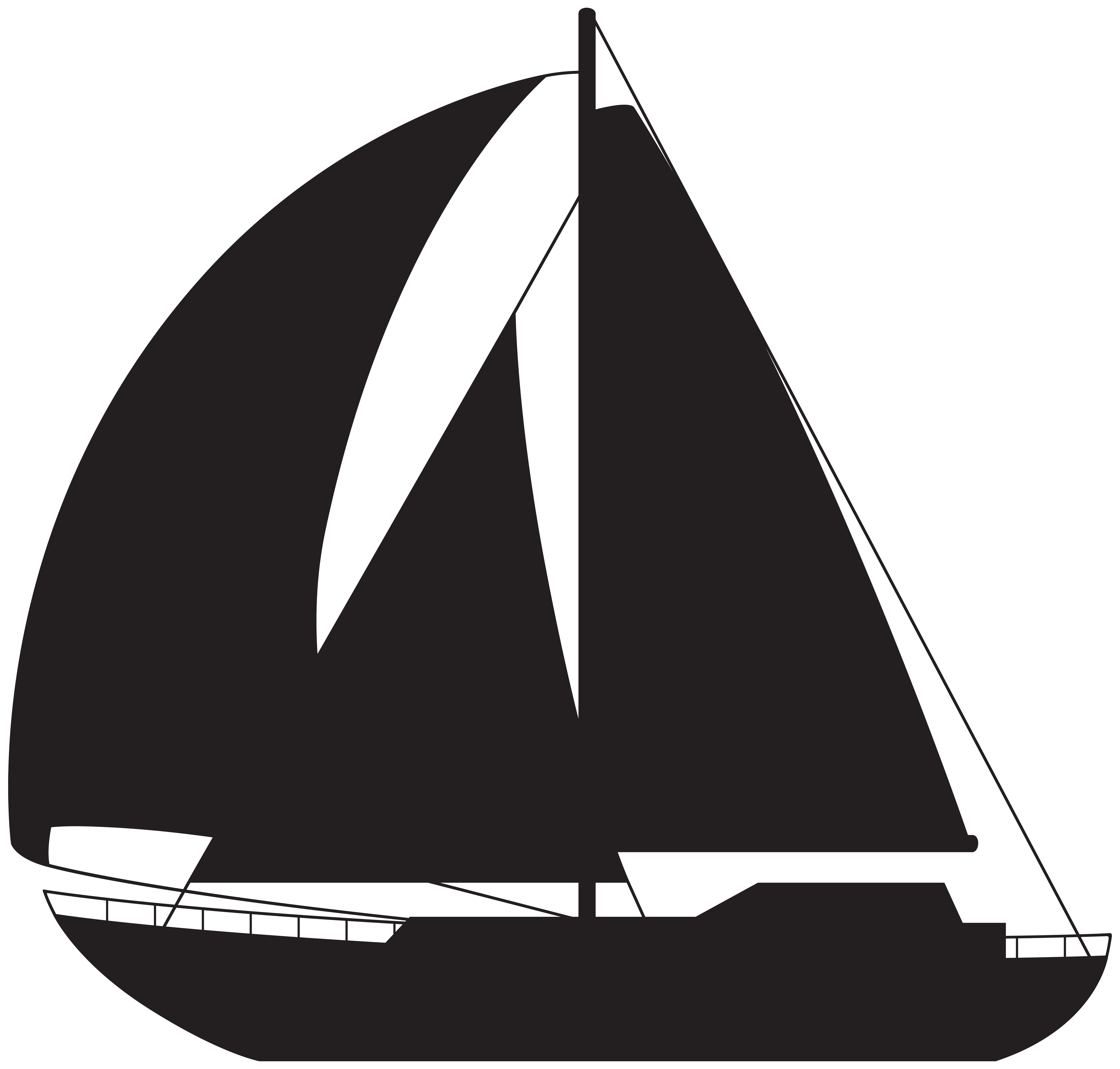 Sailboat png clip art. Clipart boat silhouette