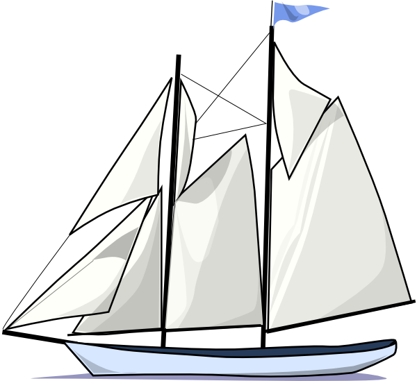 Sailing silhouette at getdrawings. Clipart boat simple
