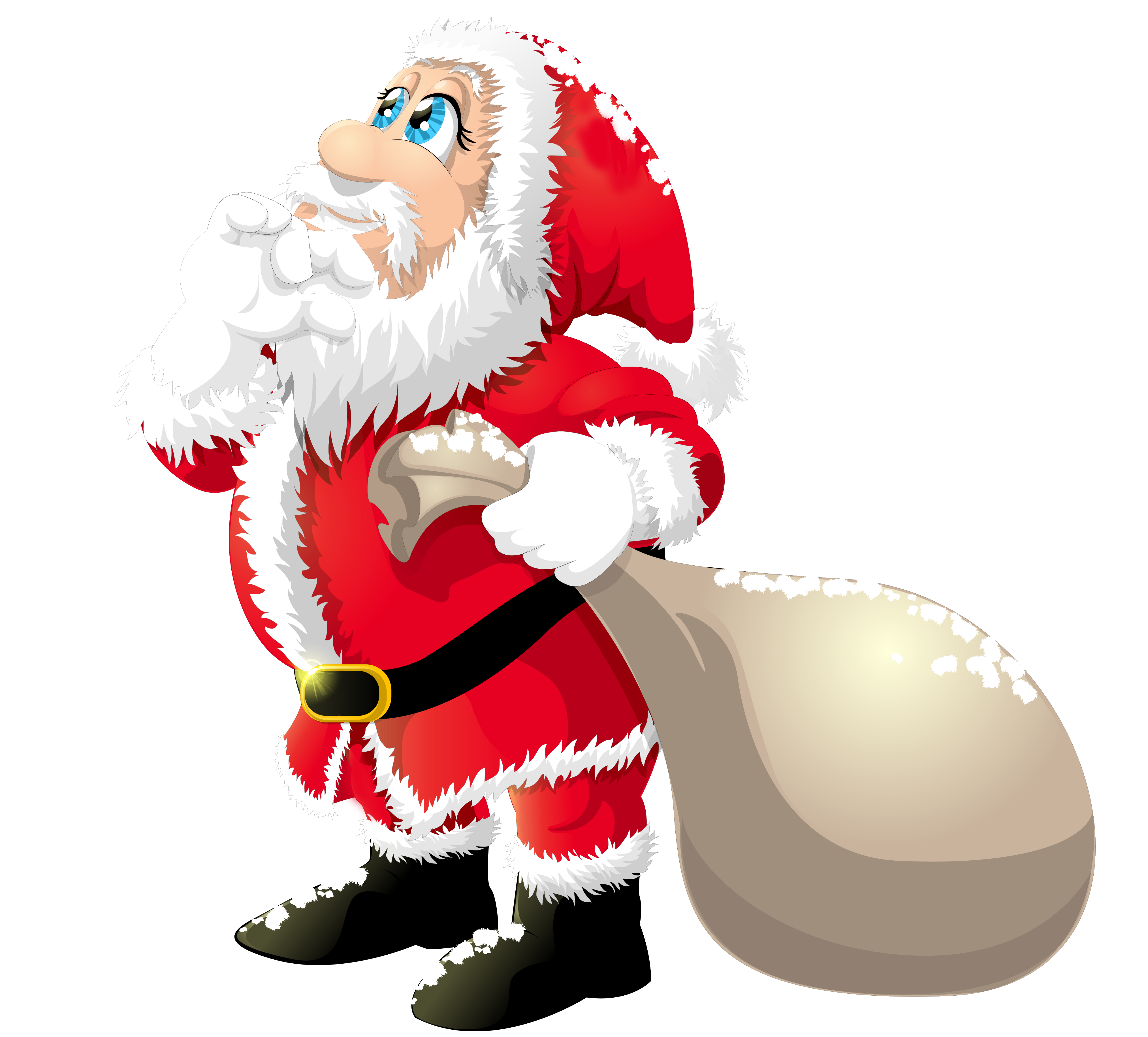 Clipart santa vector. Cute claus gallery yopriceville