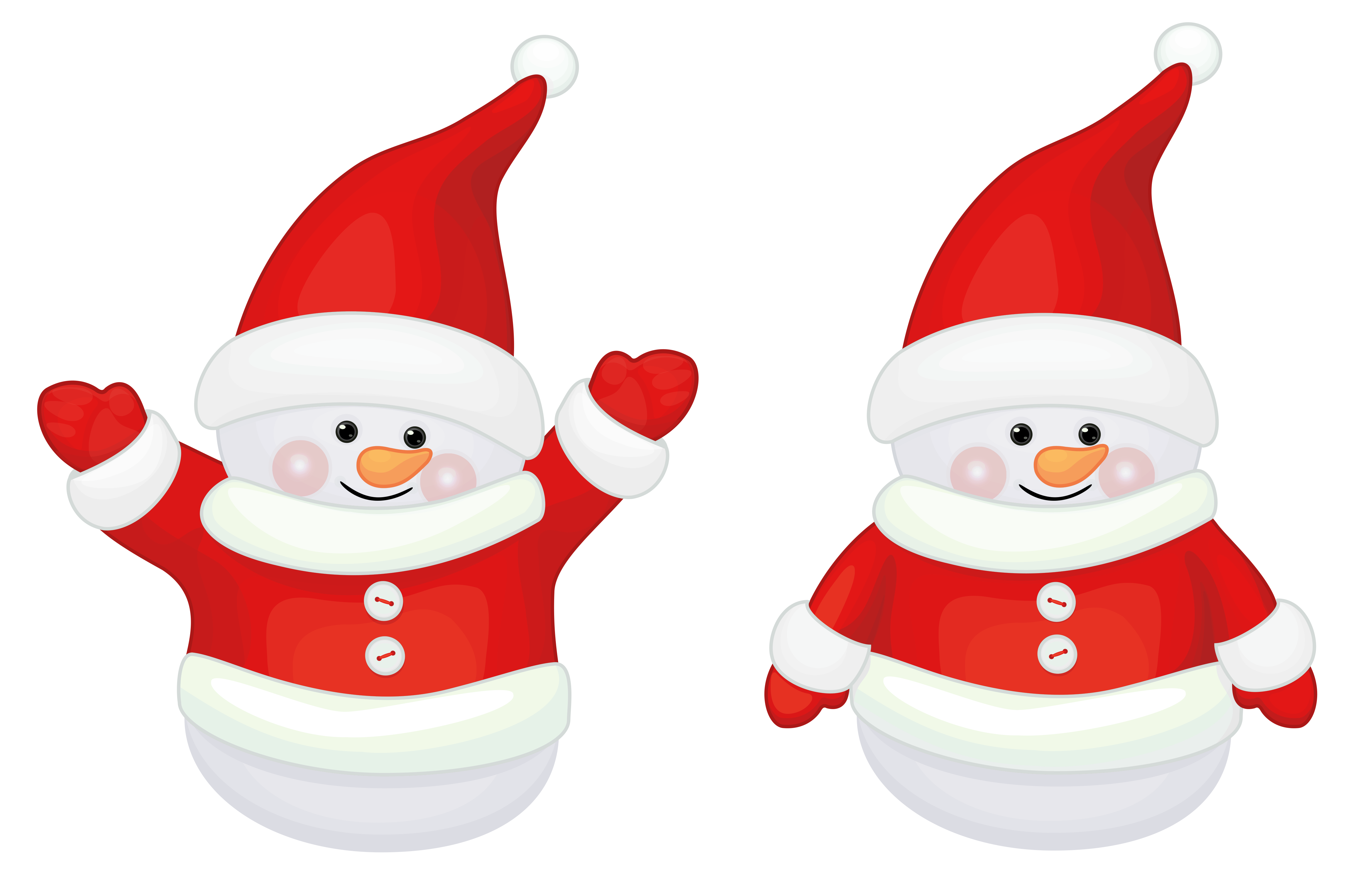 Youtube clipart cute. Transparent red santa claus