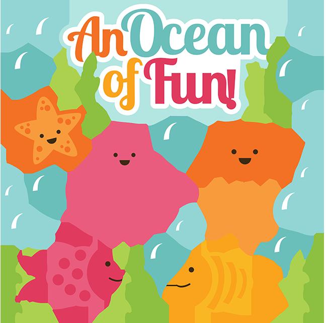 An of fun svg. Clipart ocean cute