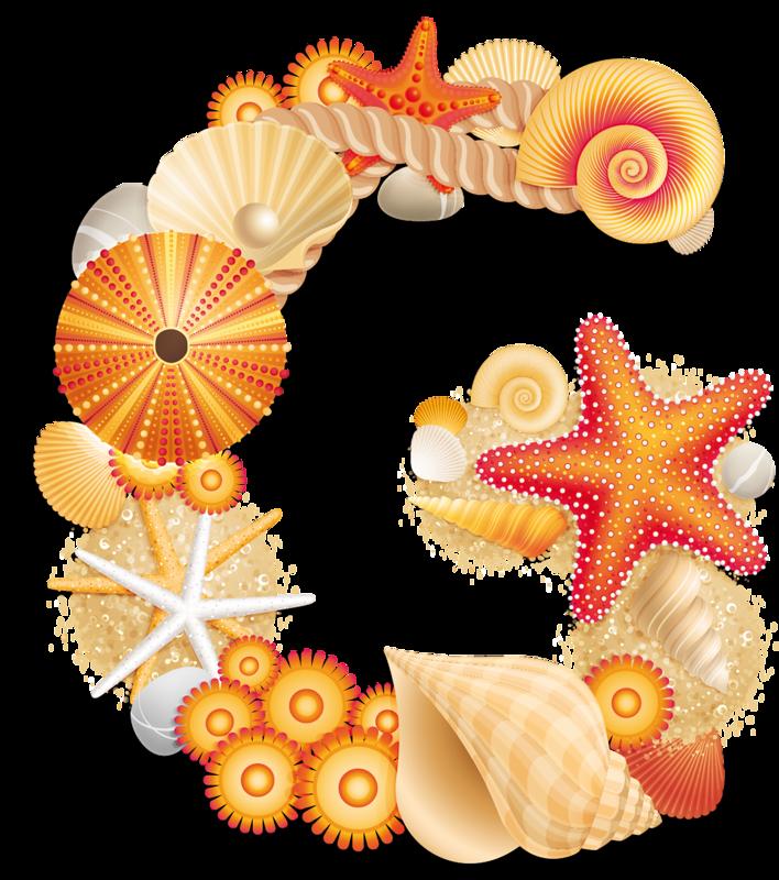 Beach g abc by. Nautical clipart letter