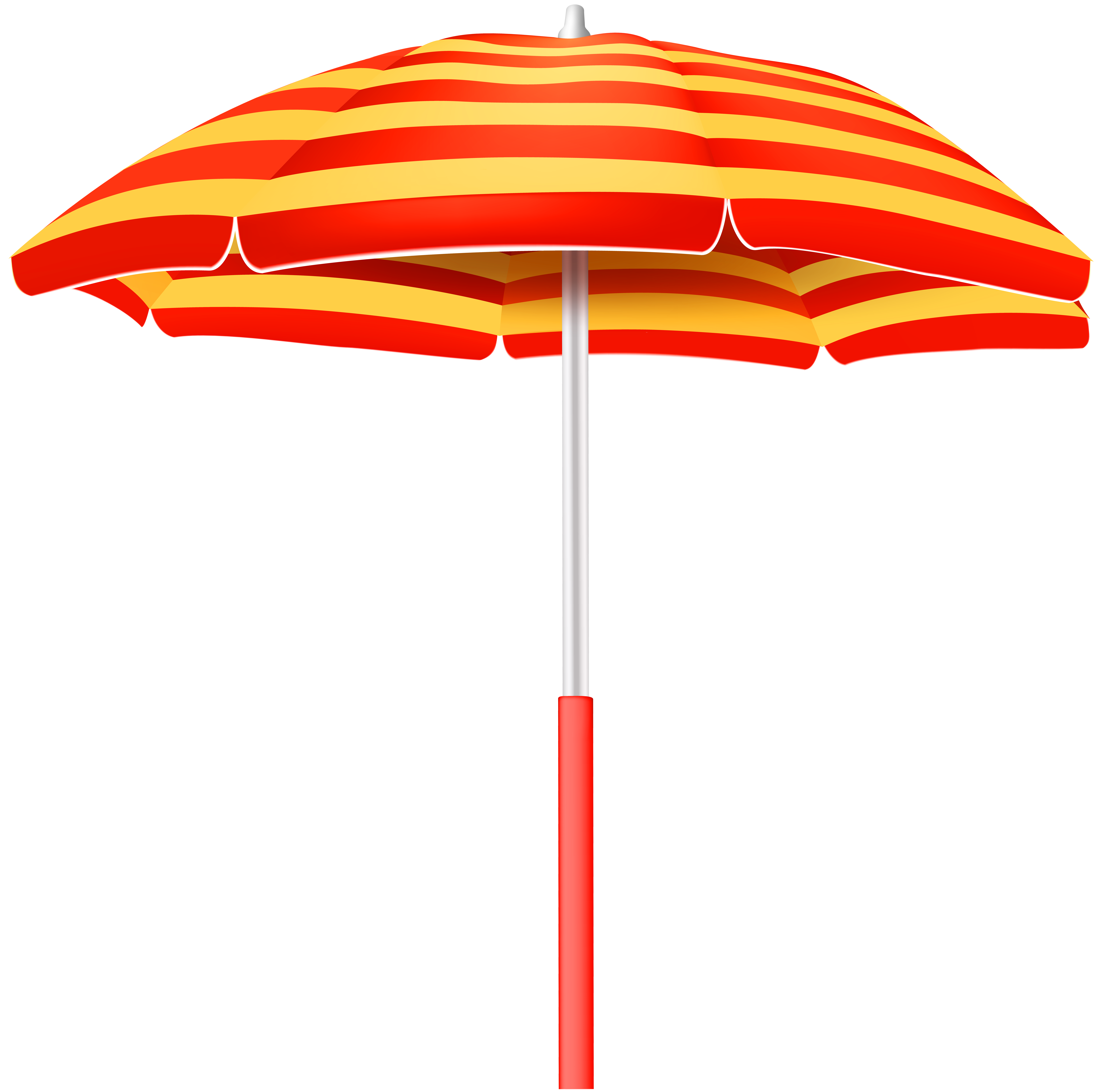 Clipart umbrella banner. Striped beach png clip