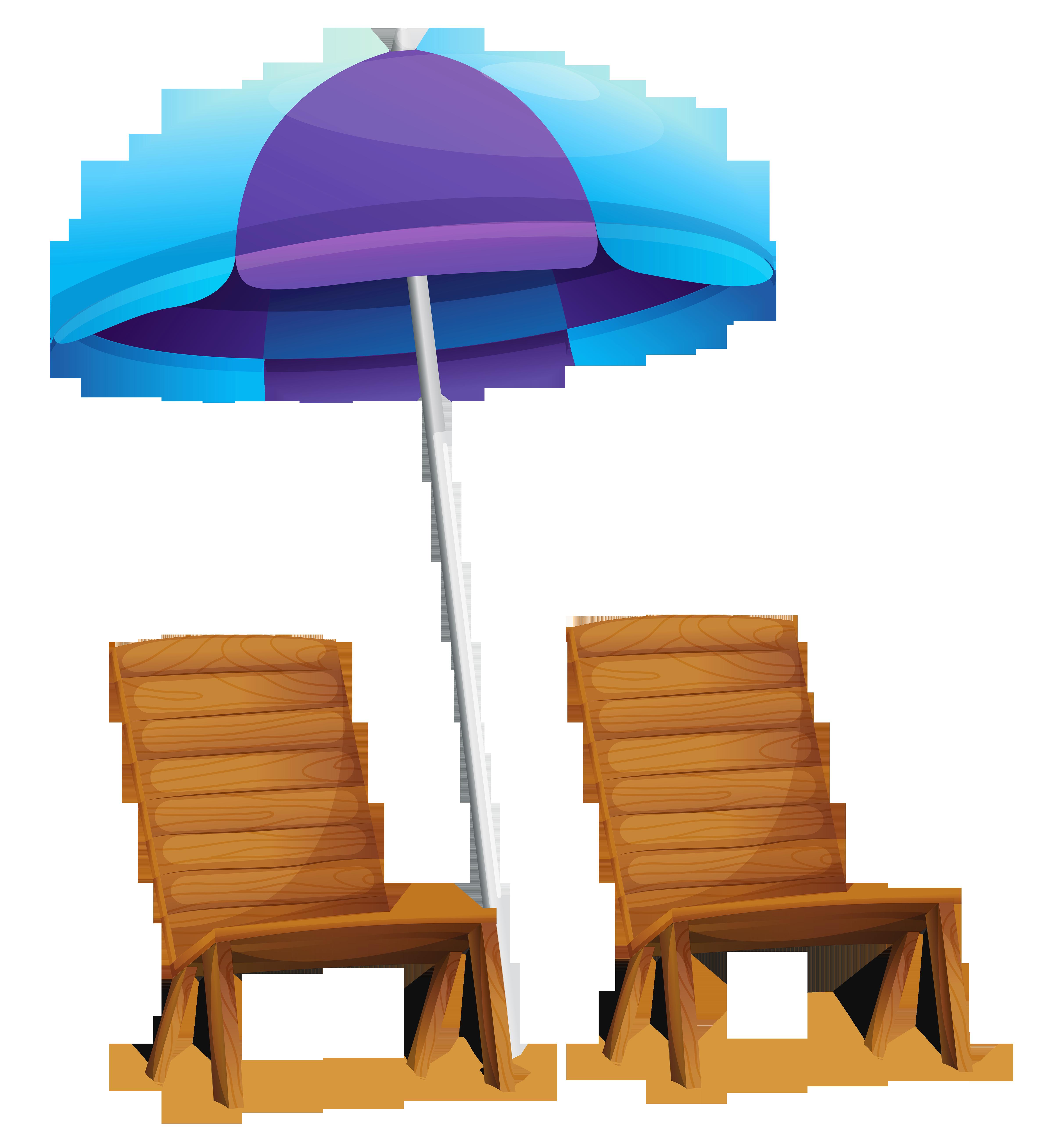 Clipart chair table chair. Transparent beach umbrella and