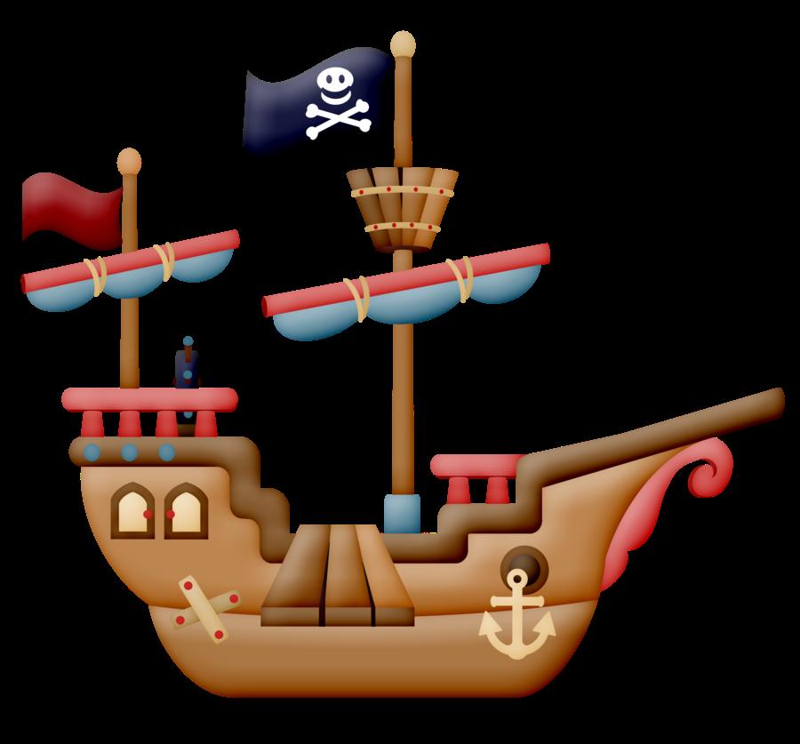pirates clipart beach