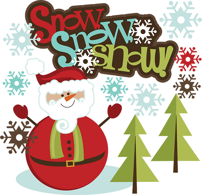 Future clipart svg. Snow santa snowman scrapbook