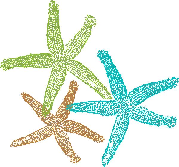White clipart starfish. Prints clip art at