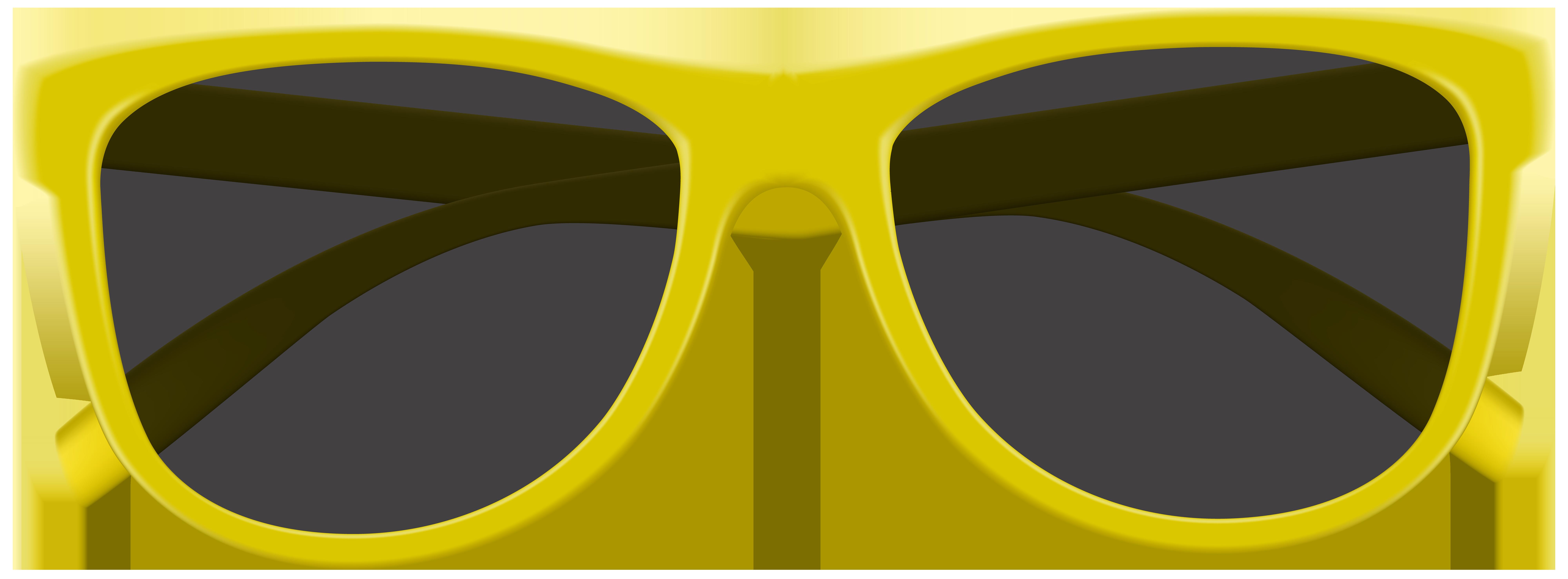 Yellow png clip art. Clipart sunglasses cute