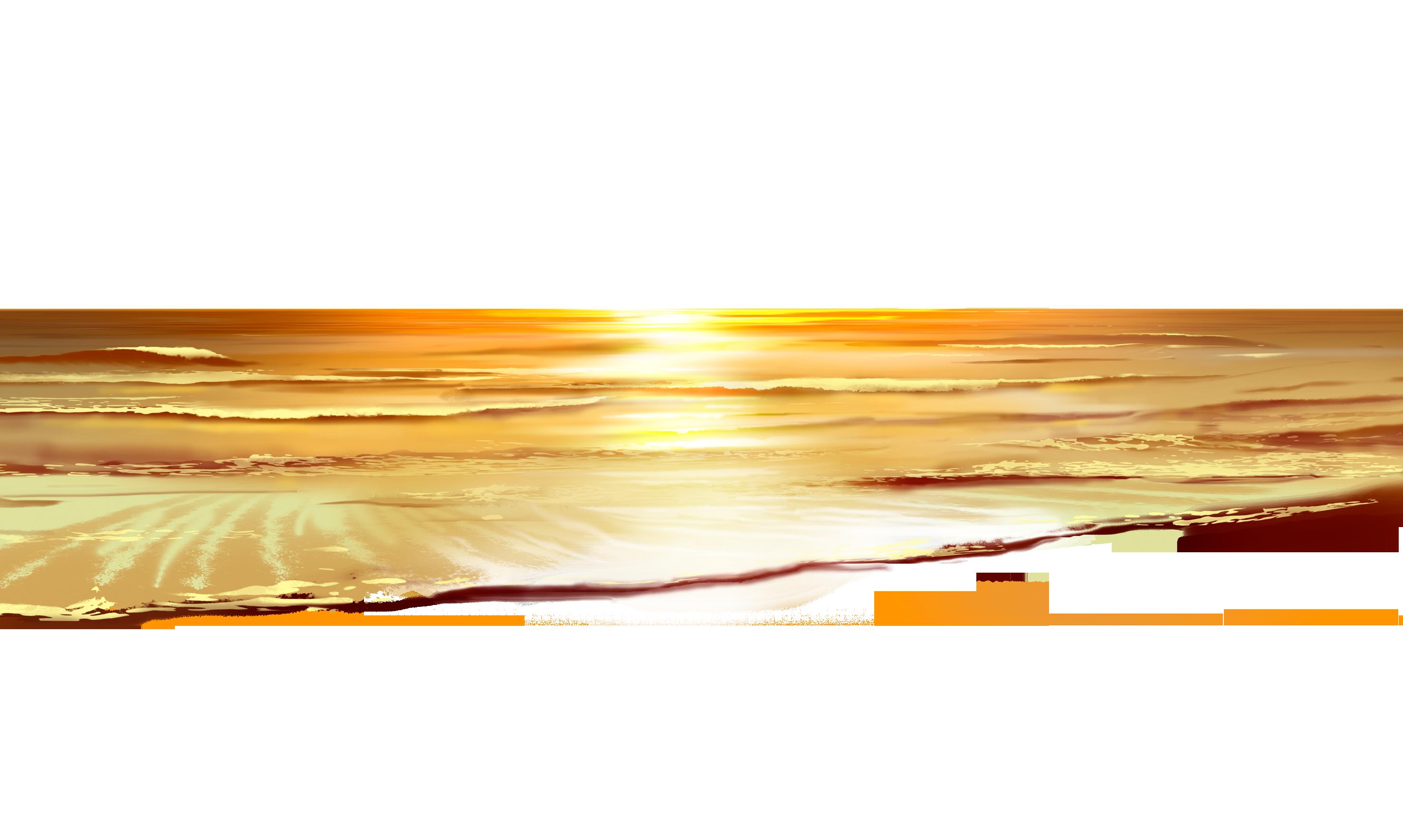 Sea sunset png pinterest. Ocean clipart ground