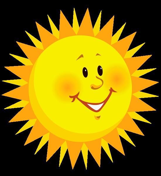 Transparent smiling png picture. Heat clipart sun clipart