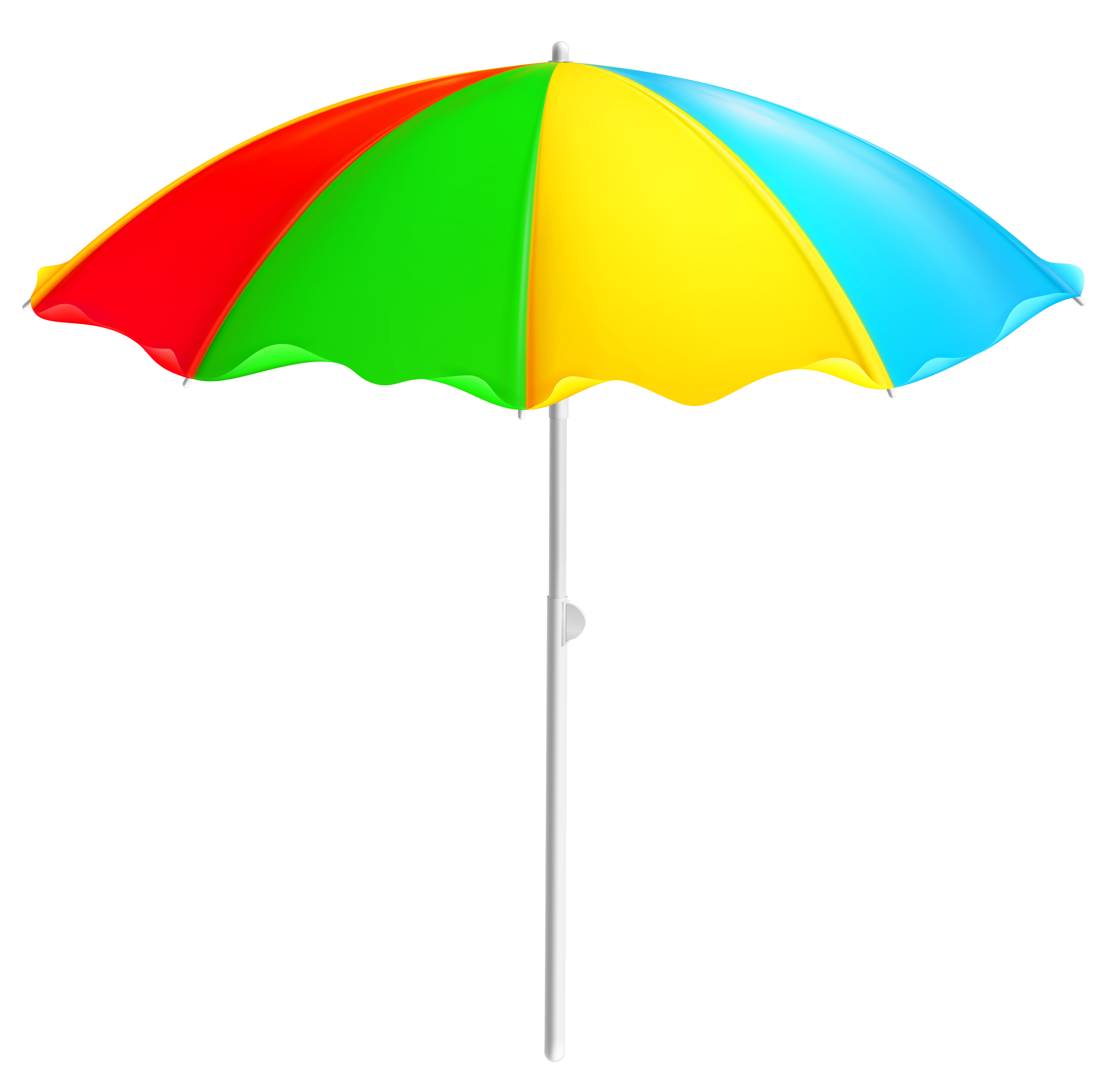 Sunset clipart high resolution. Colorful beach umbrella png