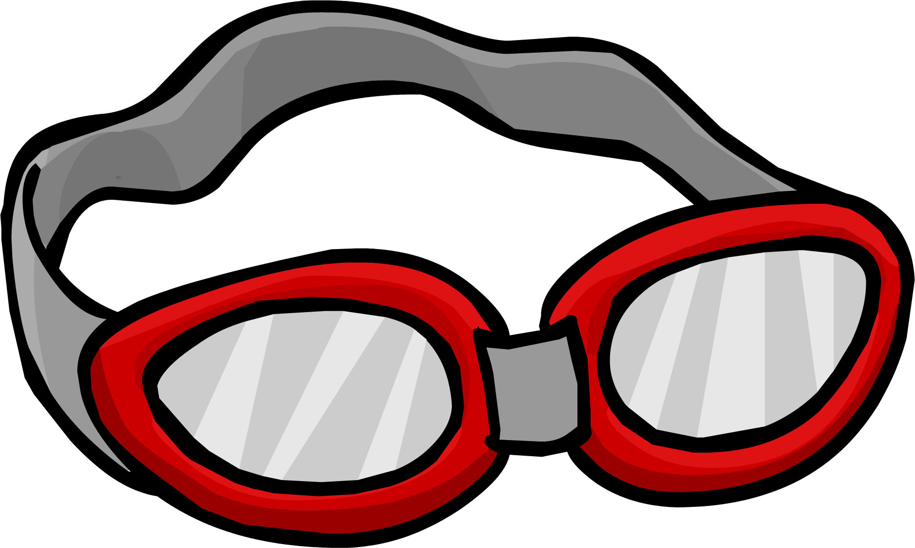Sunglasses clipart goggle. Swim goggles club penguin