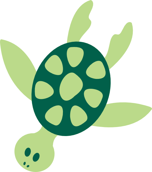 Girly clipart turtle. Sea turtles alternative design