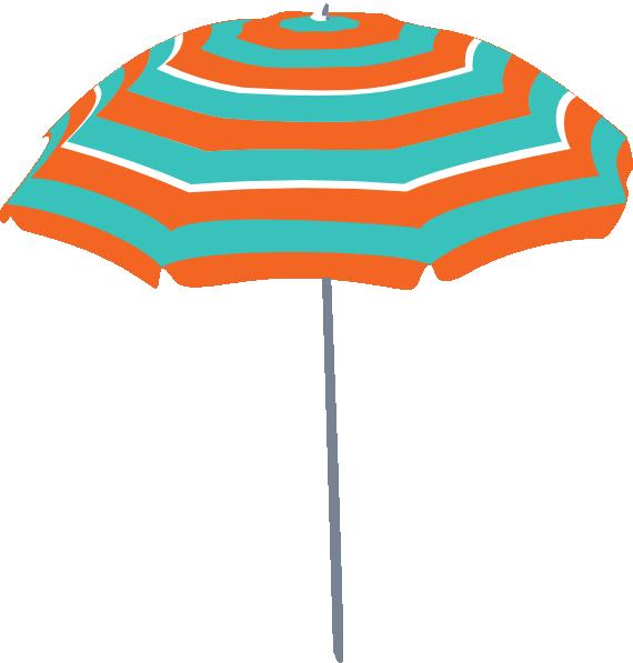 Beach clip art at. Clipart umbrella vector