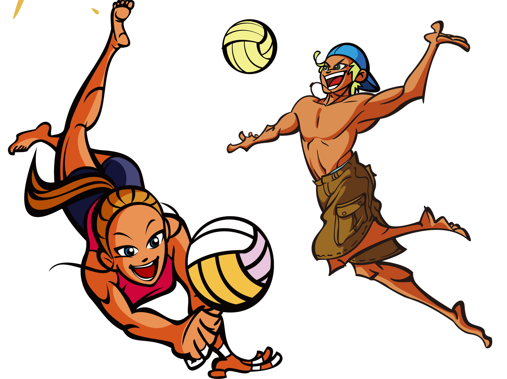Drawing at getdrawings com. Warrior clipart volleyball
