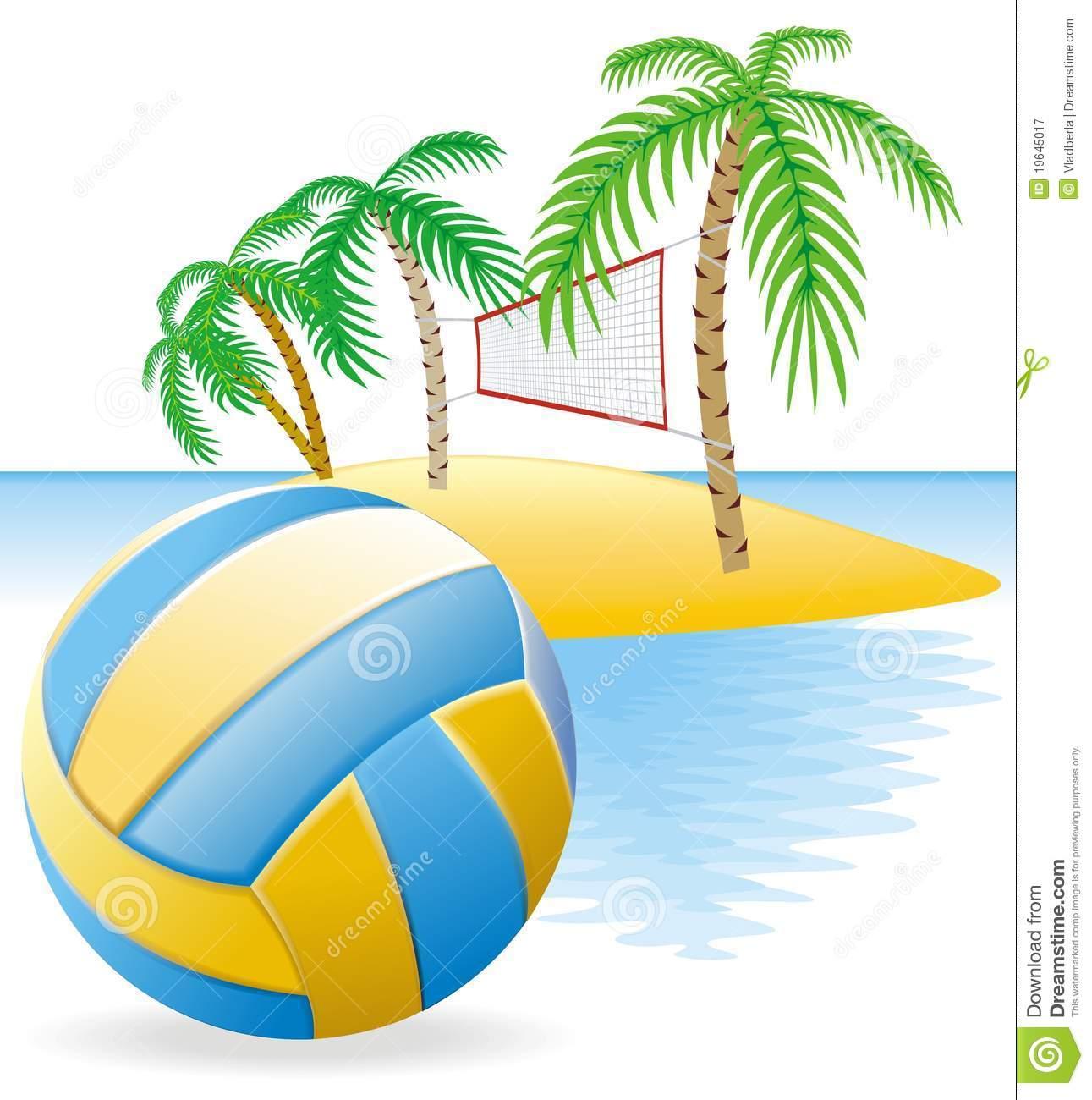 beach clipartlook. Volleyball clipart field
