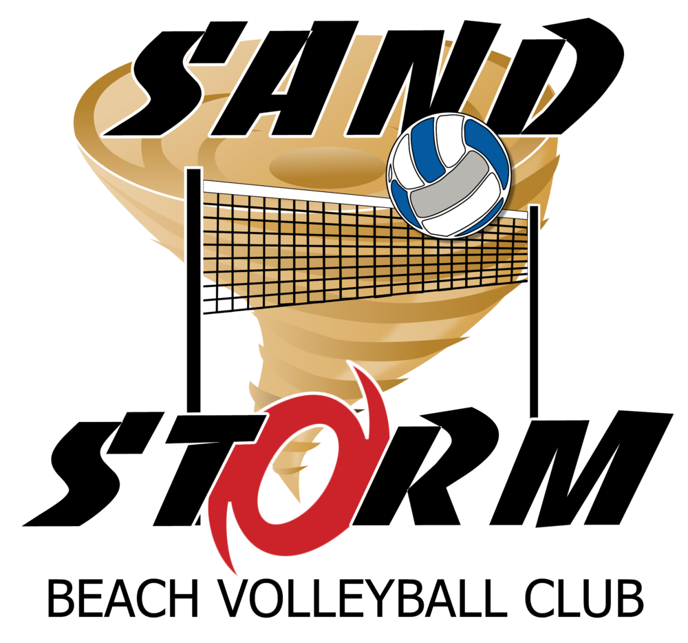 Sandstorm beach volleyball club. Game clipart vollyball