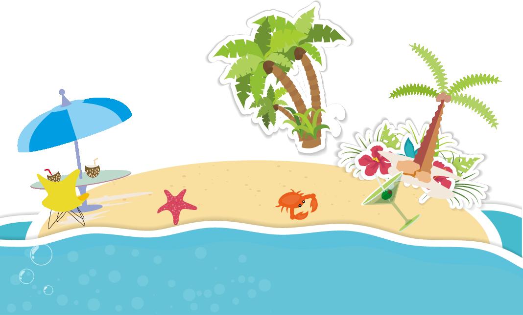 Cartoon clip art summer. Coconut clipart fresh
