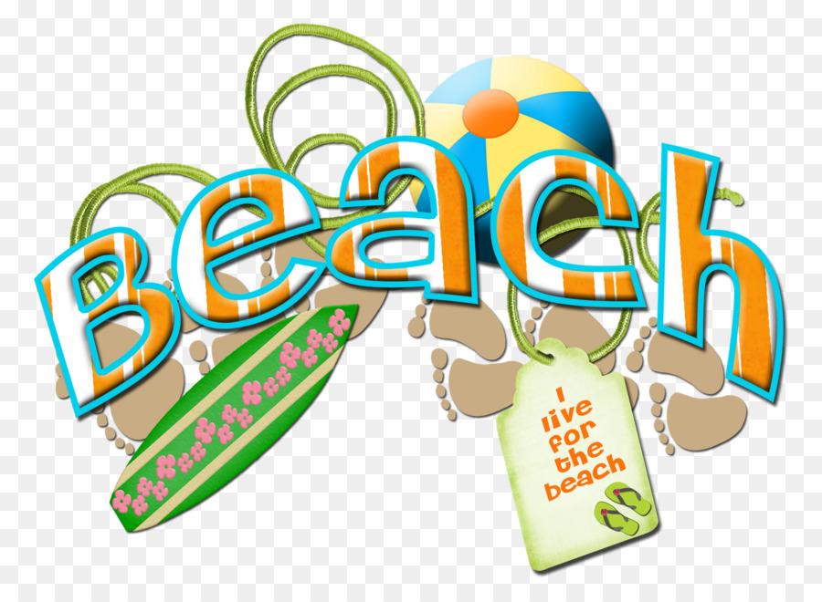 Background art transparent . Clipart beach word