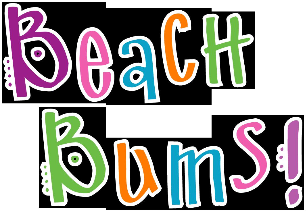 Clipart beach word. Summer words