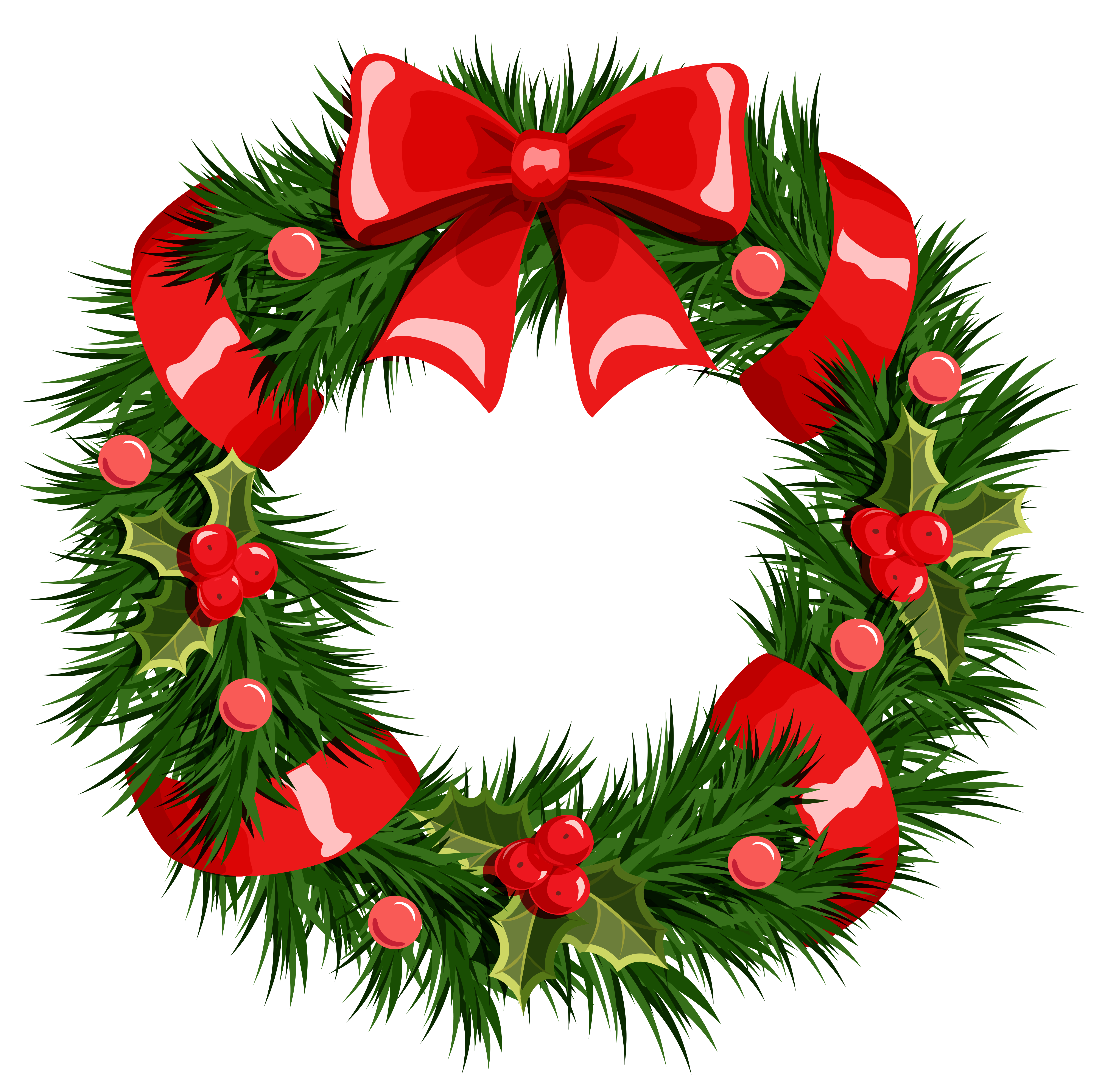 Transparent christmas png gallery. Free clipart wreath