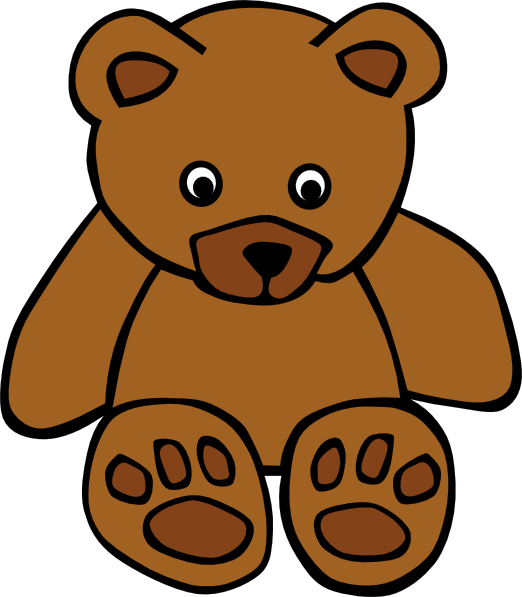 Young clipart lovely family. Baby brown bear clip