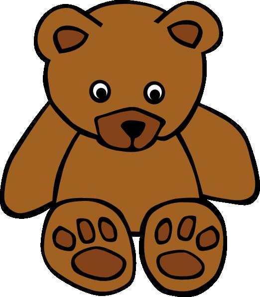 Baby brown clip art. Grandpa clipart bear