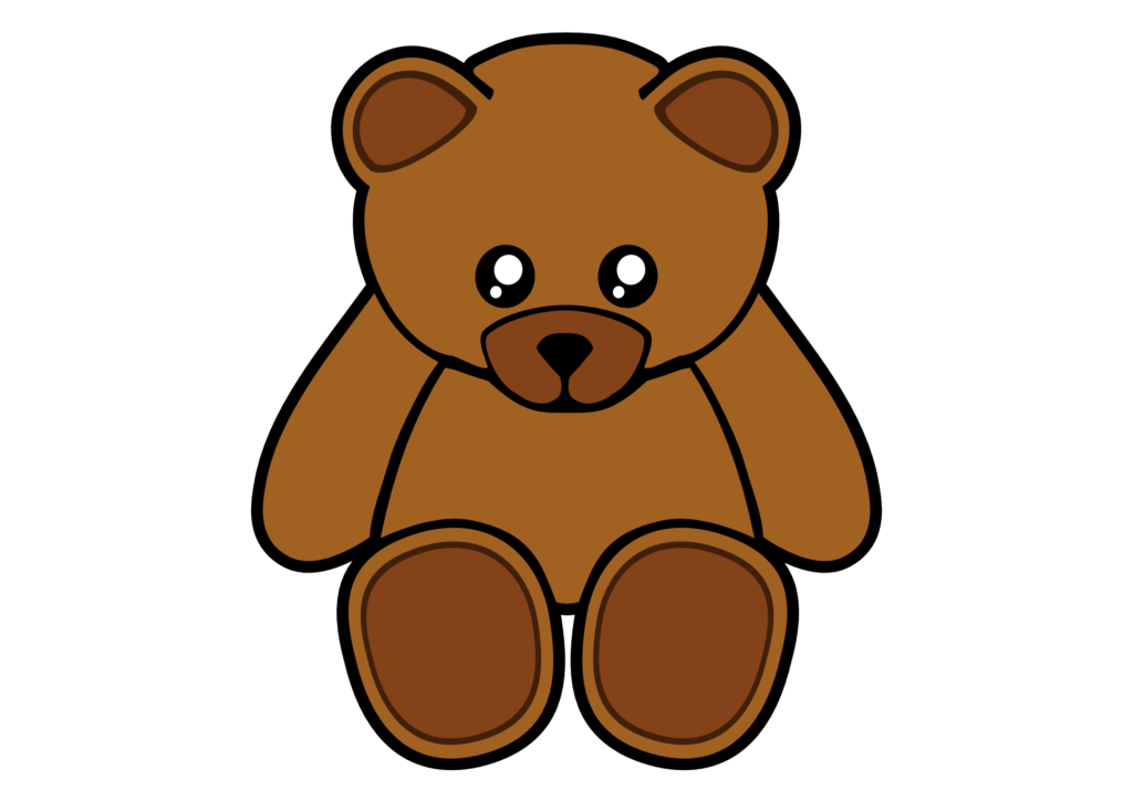Preschool clipart bear. Brown at getdrawings com