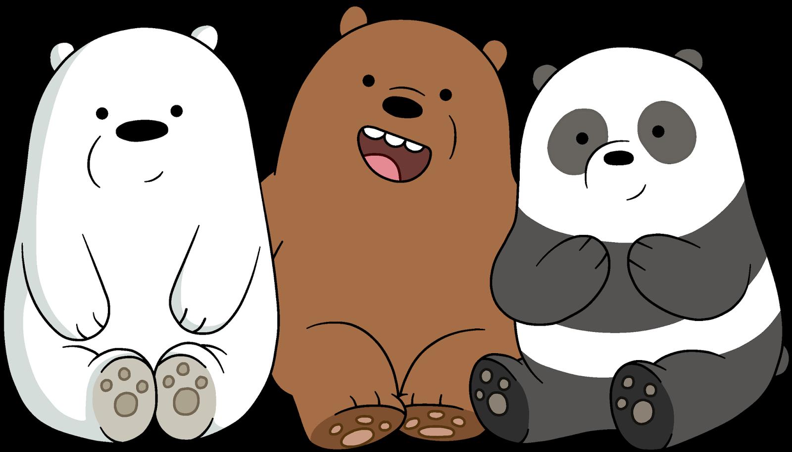 Awkward we bare bears. Clipart bear beruang