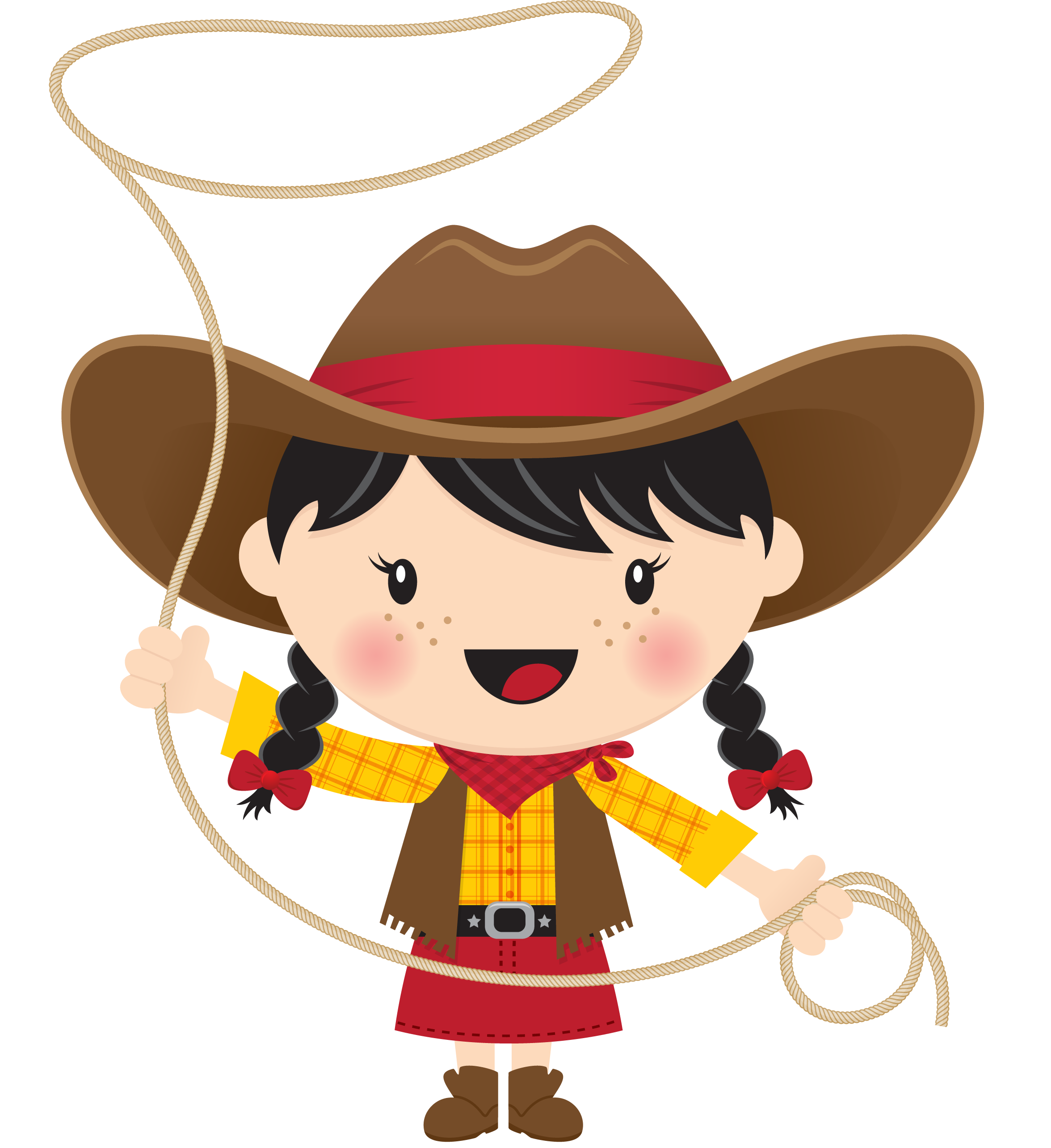 Black hair with lasso. Hat clipart admiral