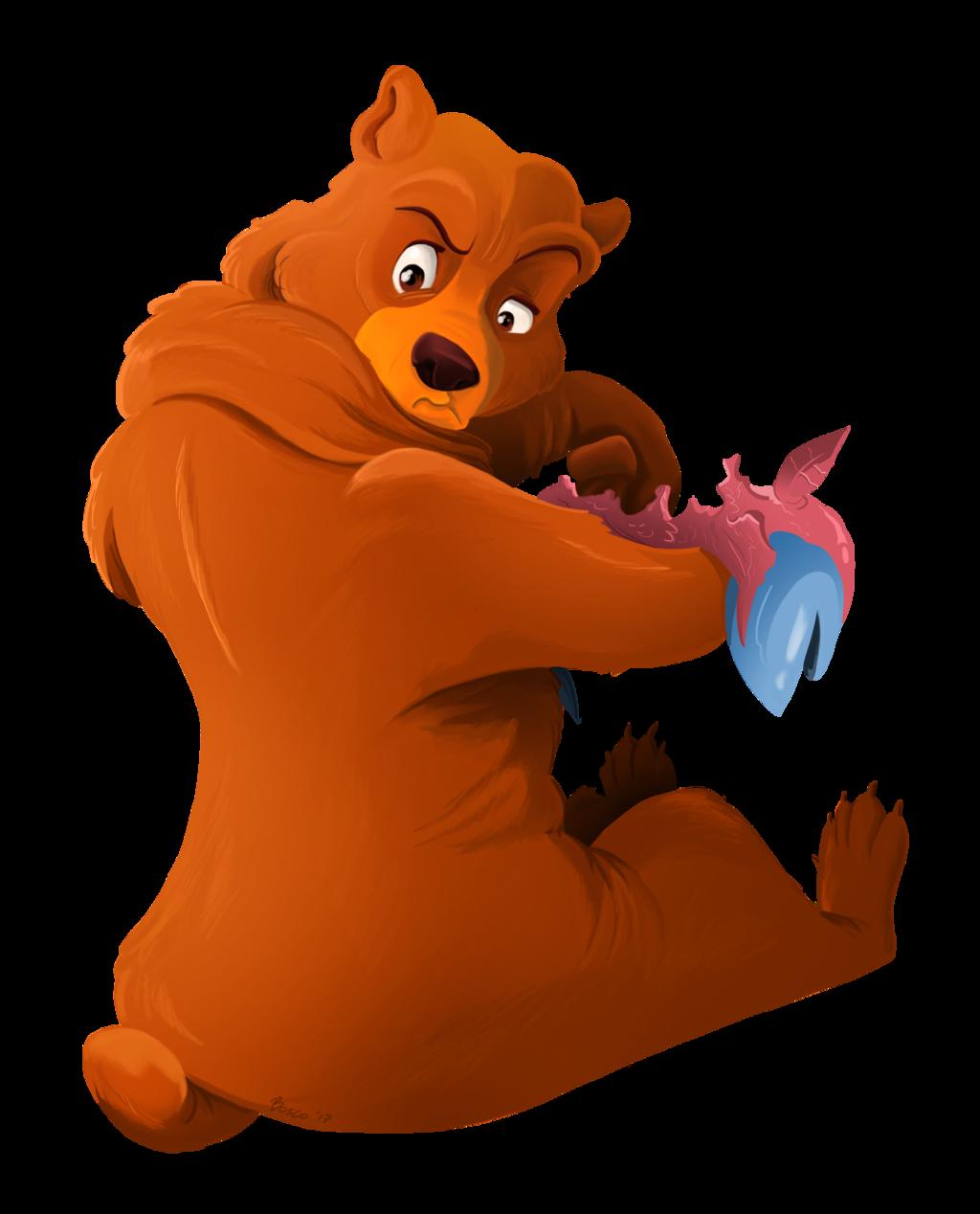 Clipart bear brother bear. Disney animal magic kenai