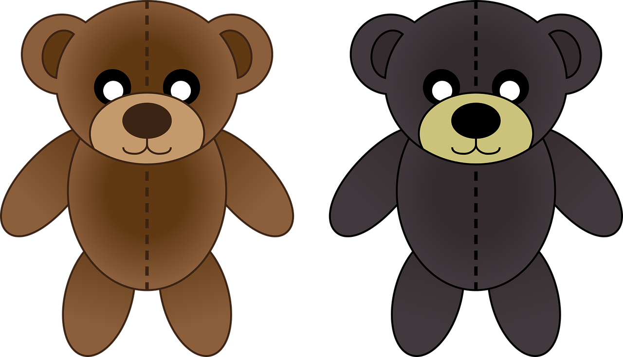 Clipart bear brown bear. Kermode polar clip art