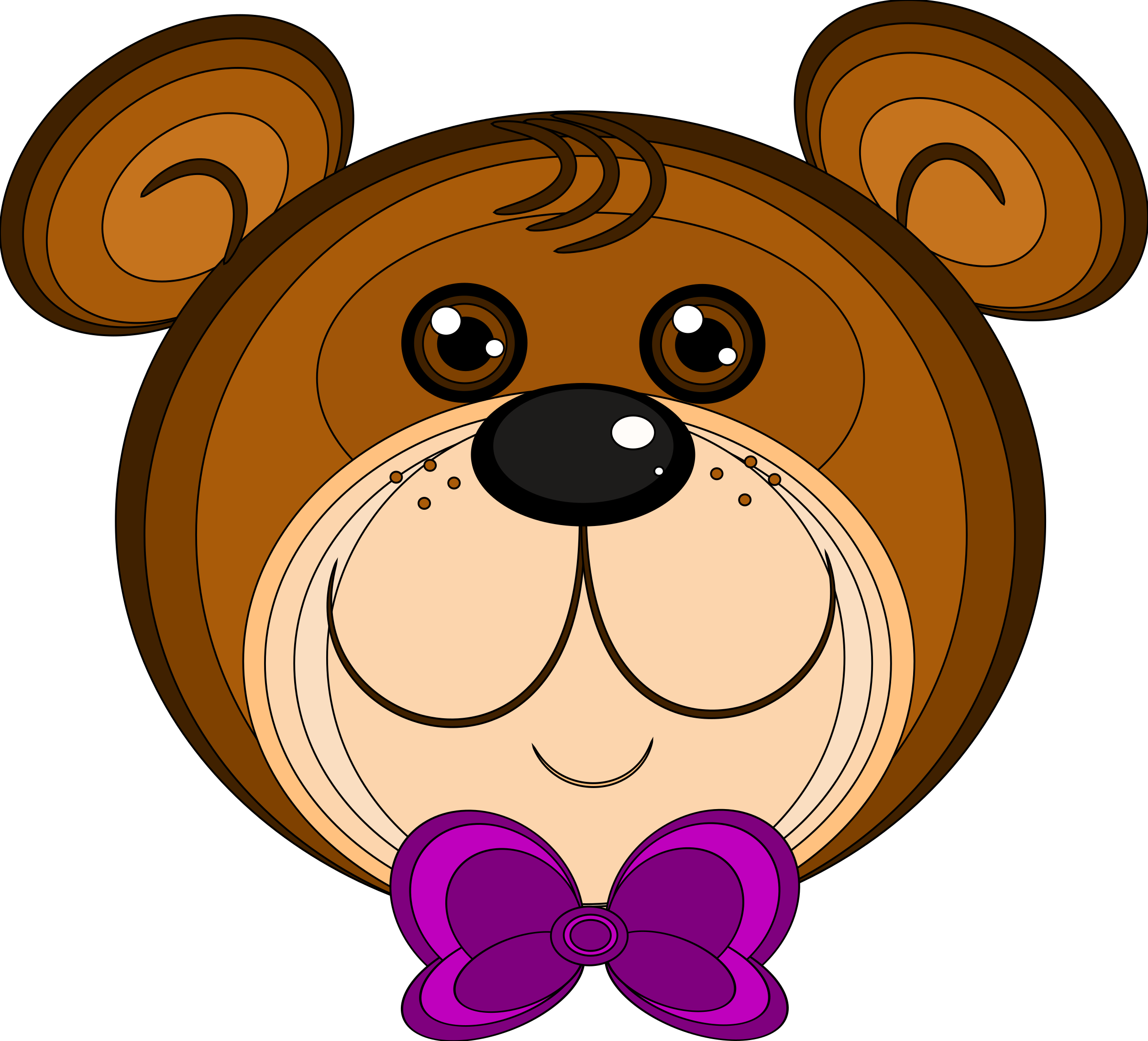 Clipart bear brown bear. Teddy big image png