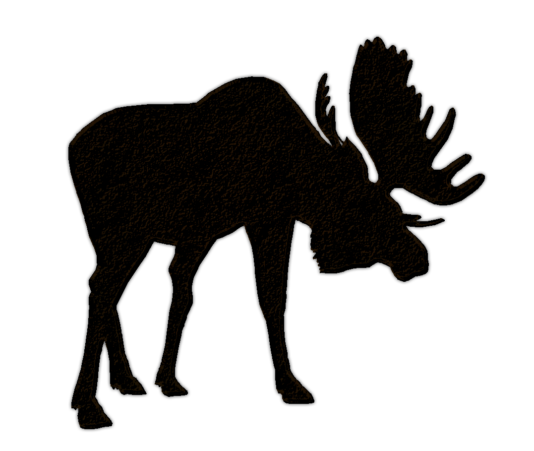 Deer clipart shadow. Lobster silhouette furor panda