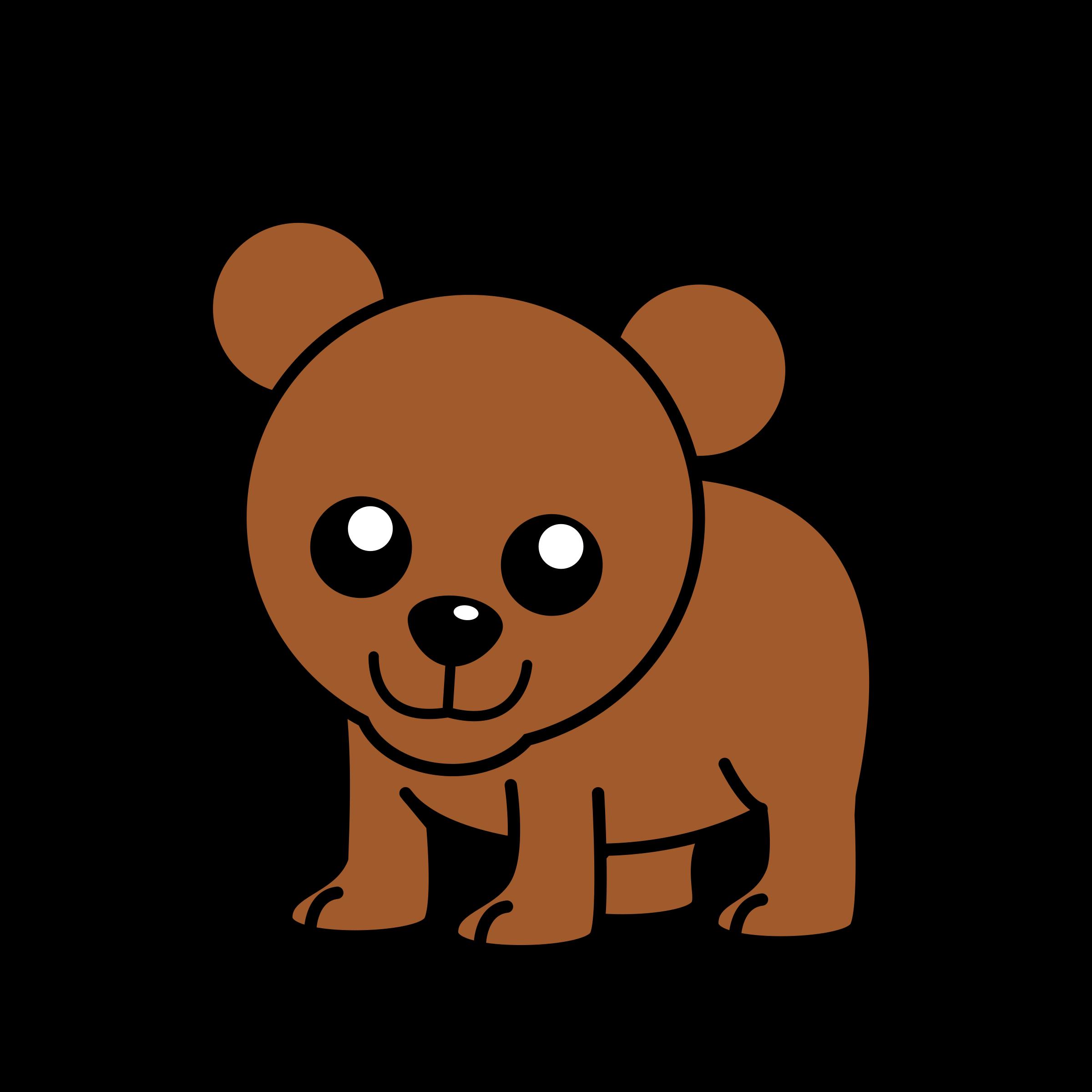 . Clipart bear carnivore