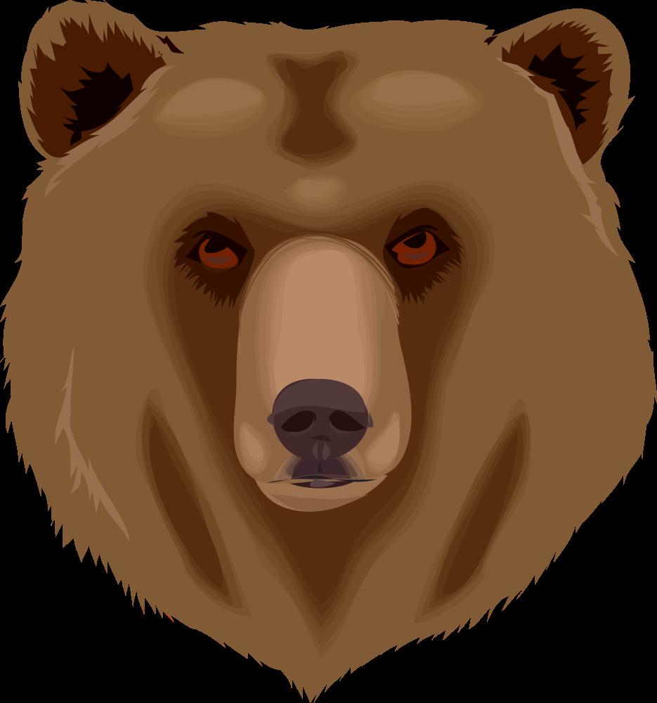 Clipart bear carnivore. Onlinelabels clip art architetto