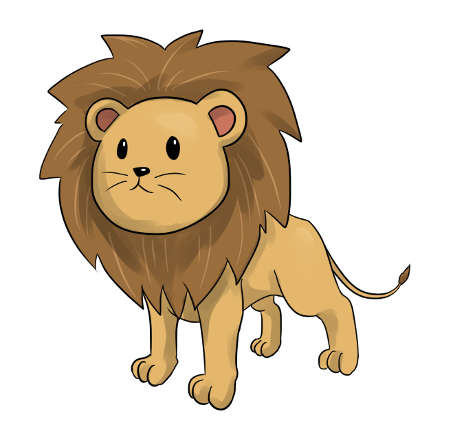 Wildcat clipart baby. Lion bear pencil and